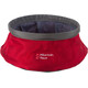 Mountain Paws Water bowl Animal Crate L foldable grey/red